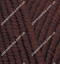 Нитки Alize Lanagold Plus 26 коричневый, фото 2