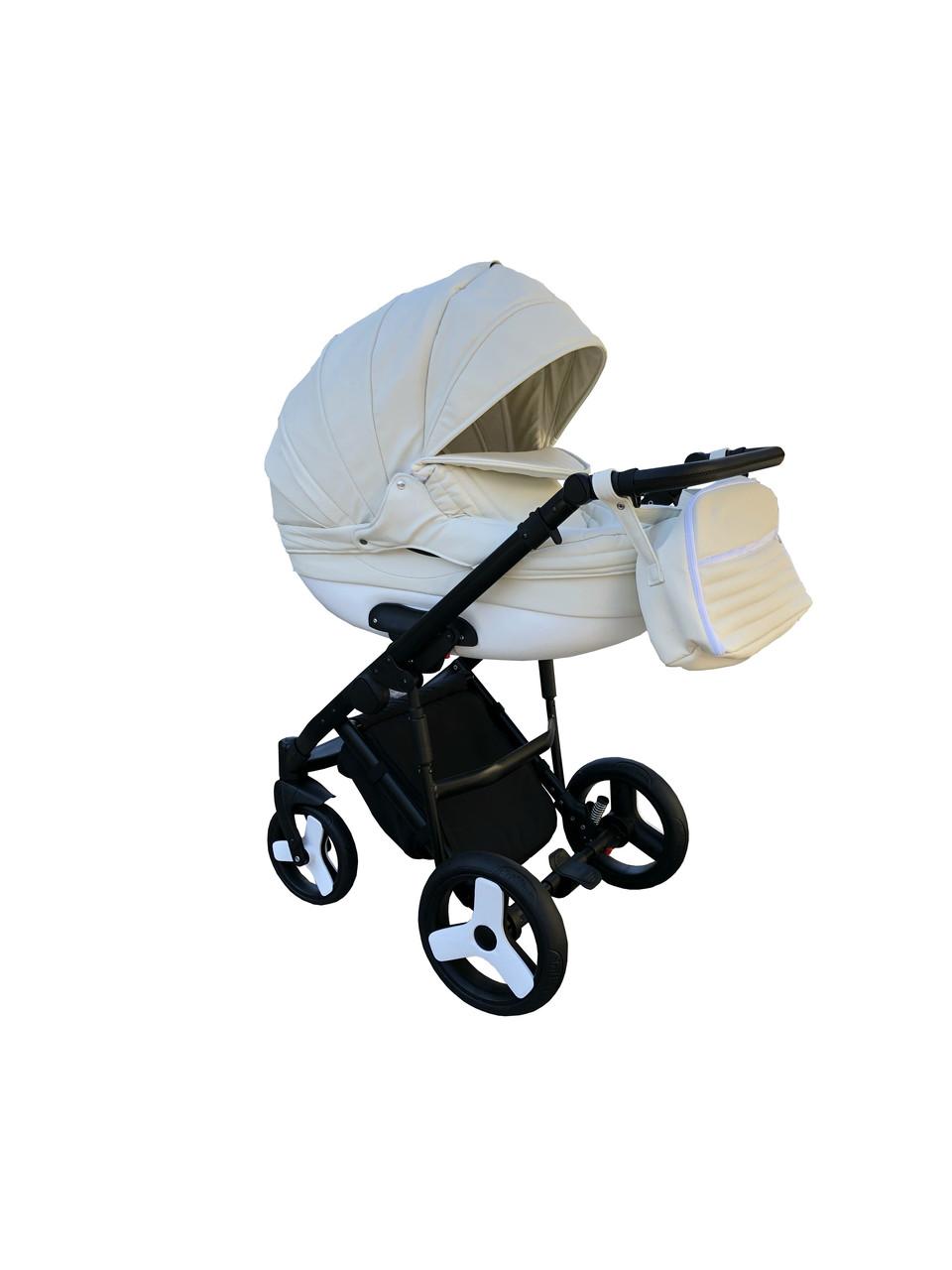Детская коляска 2 в 1 Victoria Gold Lumi молочная