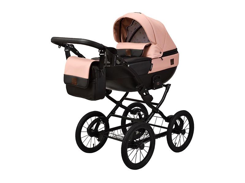 Детская коляска 2 в 1 Angelina Phaeton Classic нежно-розовая color 37