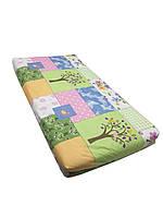Матрас детский ортопедический Солодких снів Eco Cotton Comfort Classic 120*60*7 см комбинированный цвет