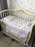 Сменный комплект постельного белья Baby Comfort  единороги