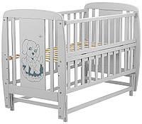 Ліжко дитяче Дубик-М Песик сірий