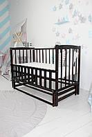Ліжко дитяче Baby Comfort ЛД2 з маятником венге, фото 1