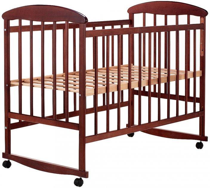 Кроватка детская Наталка ОТ ольха темная