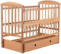 Ліжко дитяче Наталка ОСЯМО вільха світла з ящиком