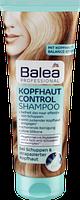 Профессиональный шампунь против перхоти Balea 2 in1 Kopfhaut Control Shampoo Anti-Schuppen