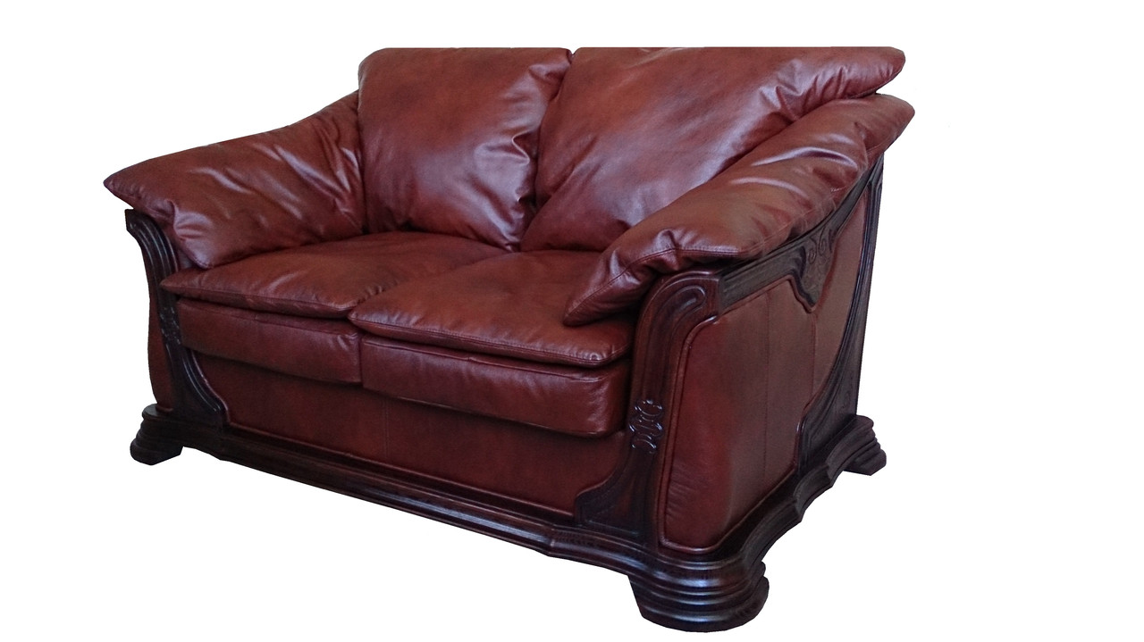 """Кожаный диван """"Ferenza"""" двухместный"""