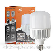 Лампа світлодіодна високопотужна ЕВРОСВЕТ 100Вт 4200К (VIS-100-E40)