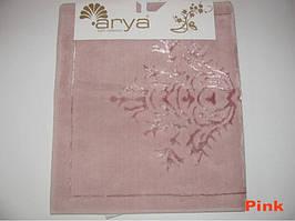 Коврик для ванной 70Х120 Arya Zambak розовый AR39