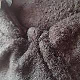 Шкарпетки-чуни флісові вставки в гумові чоботи теплі вкладиші для гумових чобіт ZEPMA Чорні (11088) M, фото 6