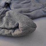 Шкарпетки-чуни флісові вставки в гумові чоботи теплі вкладиші для гумових чобіт ZEPMA Чорні (11088) M, фото 5