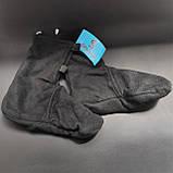Шкарпетки-чуни флісові вставки в гумові чоботи теплі вкладиші для гумових чобіт ZEPMA Чорні (11088) M, фото 2