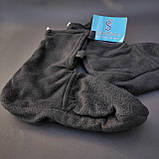 Шкарпетки-чуни флісові вставки в гумові чоботи теплі вкладиші для гумових чобіт ZEPMA Чорні (11088) M, фото 3