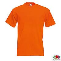 Футболки однотонные хлопковые под нанесение логотипа Super Premium Tee (Fruit of the Loom), промо-футболки опт