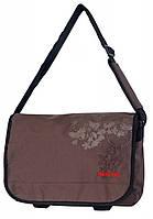 Незабываемая молодежная сумка Daniel Ray полиэстер 43,557081 коричневая