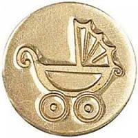 НАСАДКА ДЛЯ СУРГУЧНОЙ ПЕЧАТИ «ДЕТСКАЯ КОЛЫБЕЛЬ», MANUSCRIPT