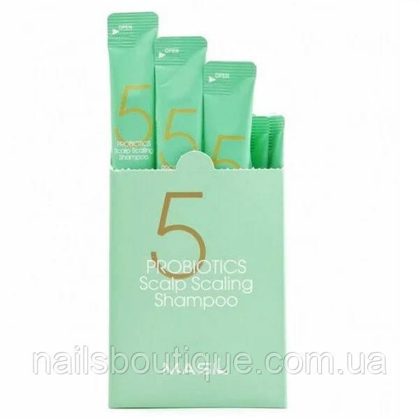 Шампунь для глубокого очищения с пробиотиками Masil 5 8 ml