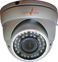 Видеокамеры цветные с ИК подсветкой (купольного типа)