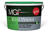 Фарба інтер'єрна без запаху MGF M1 Eco Weiss 14 кг