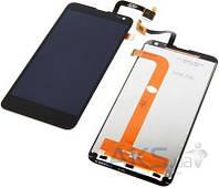 Дисплей (экраны) для телефона Fly IQ4514 Quad EVO Tech 4 + Touchscreen Black