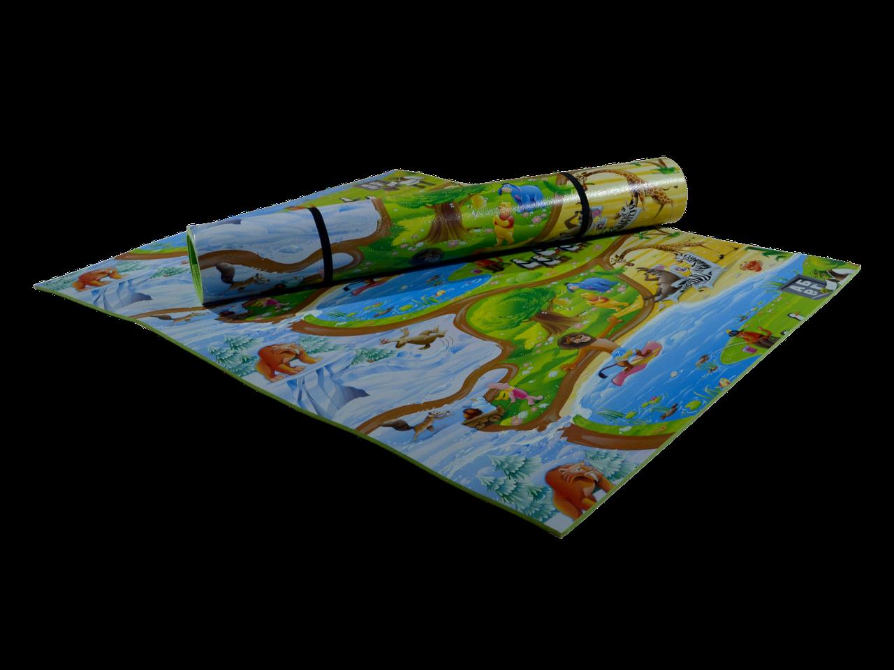 Розвиваючий килимок Мадагаскар 1500*1200*8 мм