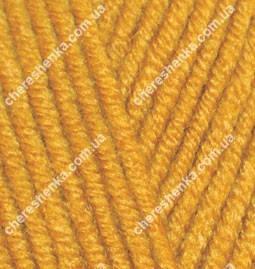 Нитки Alize Lanagold Plus 645 горчичный, фото 2