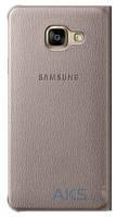 Чехол Samsung Flip Wallet для A710 Galaxy A7 2016 Gold (EF-WA710PFEGRU)