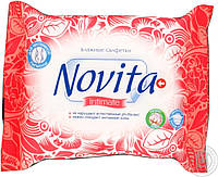 Вологі серветки для інтимної гігієни  Новіта