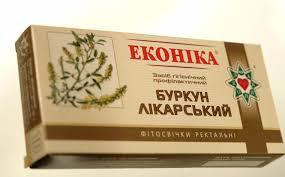 Свечи донник лекарственный №10 Эконика