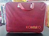 Велюровий Комплект постільної білизни Моніка євро розмір Фіолетового кольору, фото 10