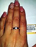 Серебряное кольцо с золотыми накладками, фото 3