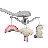 Детский укачивающий центр напольные качели для новорожденных EL CAMINO SENSA ME 1028 Unicorn синий, фото 2