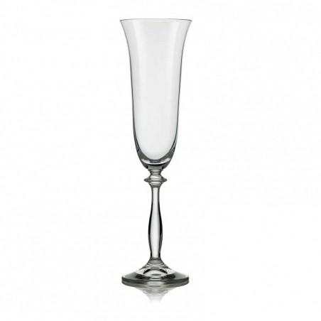 Набор бокалов для шампанского Bohemia Анжела 40600-190-2 (190 мл, 2 шт)