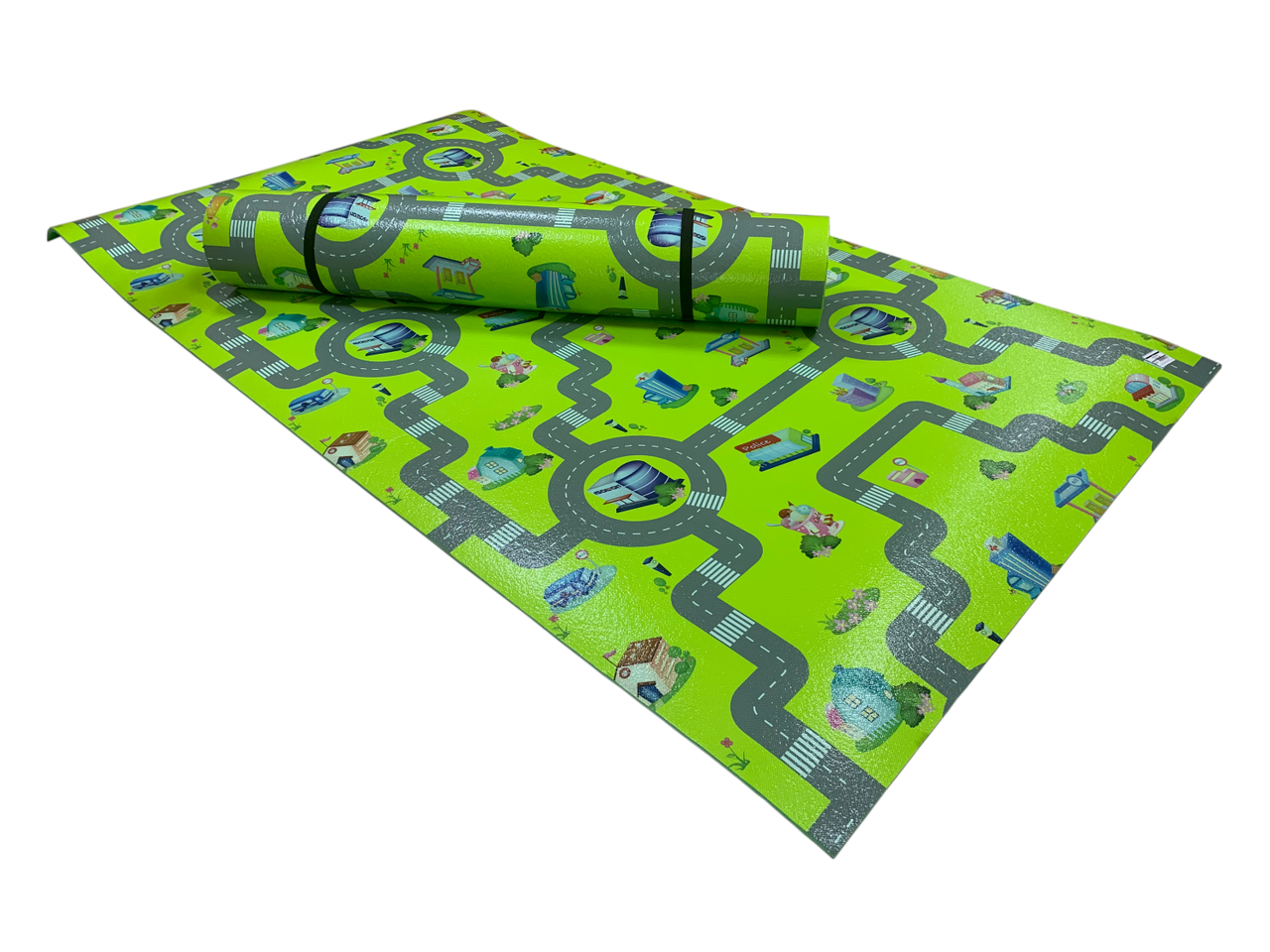 Развивающий коврик Детство 2000*1100*8 см
