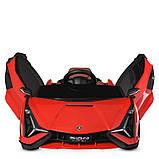 Дитячий електромобіль на акумуляторі Lamborghini M 4530 з пультом радіоуправління для дітей 3-8 років червона, фото 3