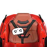 Дитячий електромобіль на акумуляторі Lamborghini M 4530 з пультом радіоуправління для дітей 3-8 років червона, фото 7