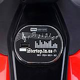 Детский электромотоцикл двухколесный на аккумуляторе BMW M 4621EL для детей 3-8 лет синий, фото 4