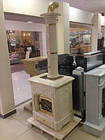 Печь-камин Sergio Leoni Liberty с керамическим дымоходом