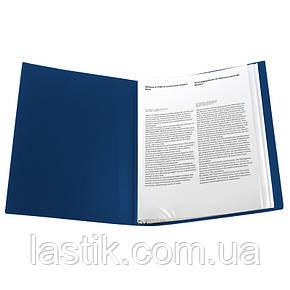 Дисплей-книга 40 файлов, синяя, фото 2