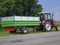 Тракторный самосбрасывающий прицеп, фото 1