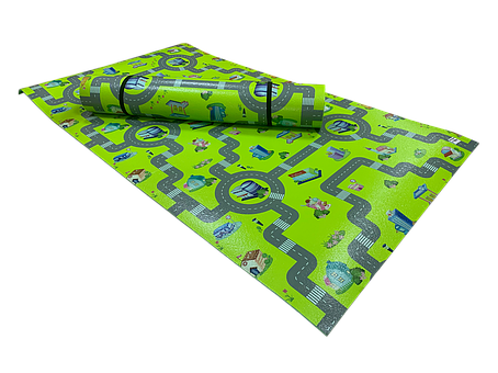 Розвиваючий килимок Дитинство 1800*550*8 см, фото 2
