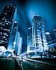 фотопечать Ночной город