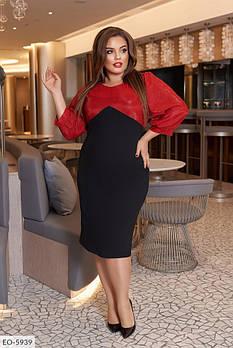 / Размер 50-52,54-56,58-60 / Женское нарядное вечернее платье больших размеров