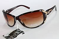 Женские солнцезащитные очки в коричневом цвете, фото 1