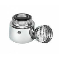 Гейзерная кофеварка еспрессо Domotec DT-2809 на 9 чашек (серебро), фото 3