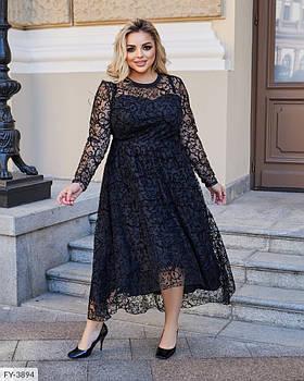 / Размер 50-52,54-56,58-60 / Женское вечернее платье больших размеров