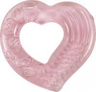 """Прорезыватель для зубов, с водой """"Сердечко"""" (розовый)"""