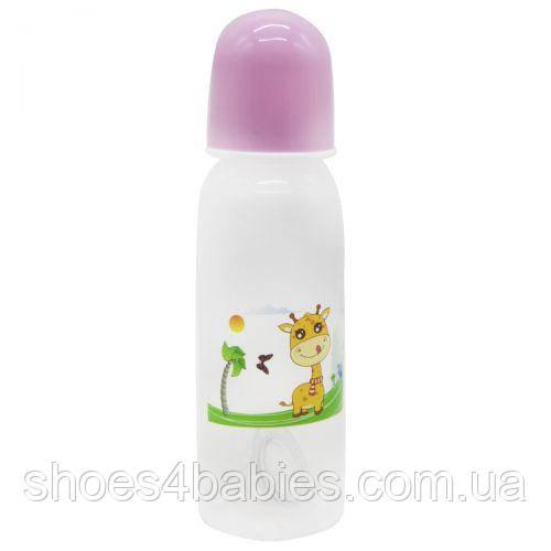 Пляшечка для годування, 240 мл рожевий