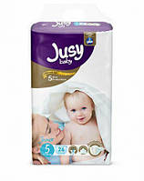 """Дитячі підгузники """"Jusy junior"""" 5 (11-25 кг)"""