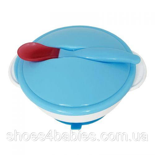 Набор для кормления, голубой